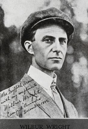 Wilbur Wright, American aviator, c 1905.