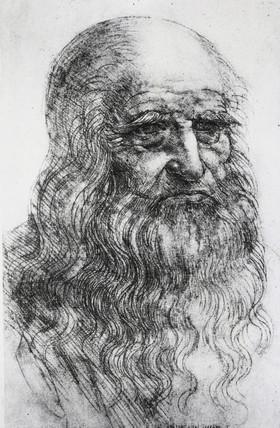 Leonardo da Vinci, Italian artist and inventor, c 1510s.