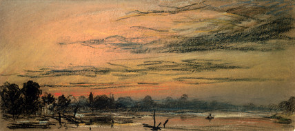 Afterglow two hours after sunset, 13 September 1886.