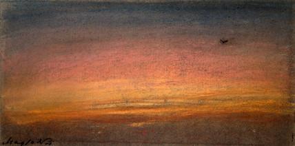 Sunset, 10 May 1884.