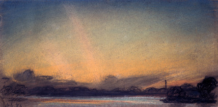 Sunset, 4 September 1885.