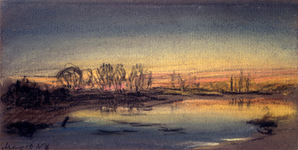 Sunset, May 1884.