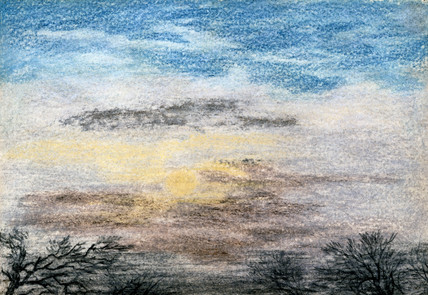 'Chromatics of the sky', 27 October 1883.