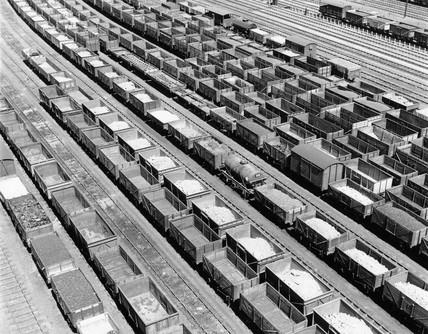 Marshalling yard, Toton, 1952.
