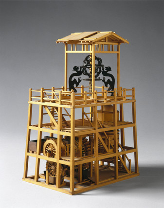 Astronomical clock, Chinese, 1088.