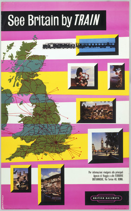 'See Britain by Train', BR poster, 1965.