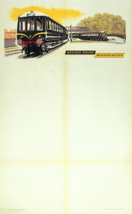 'Western Region Modernisation', 1960.