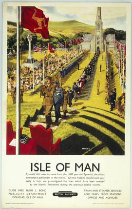 'Isle of Man - Tynwald Hill', 1950. British