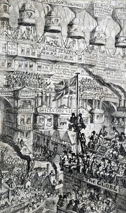 'Overpopulation' and the 'Balloon Craze', 1851.