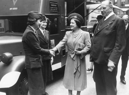 Queen Elizabeth, 1943.