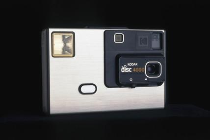 Kodak disc 4000 camera, 1982-1984.
