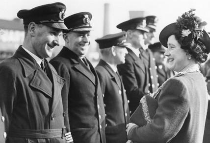 Queen Elizabeth, 8 February 1940.