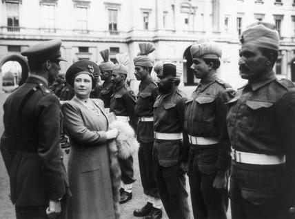 Queen Elizabeth, 26 September 1943.
