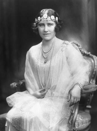 Queen Elizabeth, November 1926.