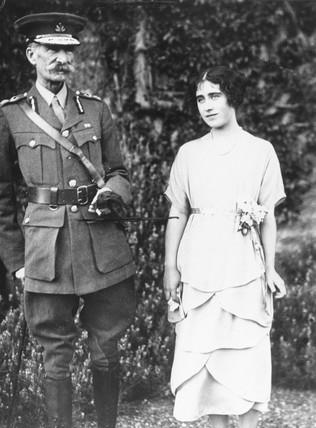 Queen Elizabeth, c 1910.
