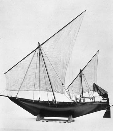 A batello or batil, 19th century.