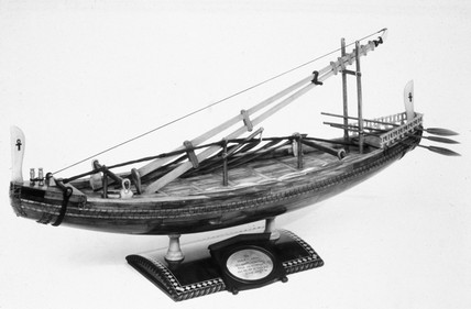 Egyptian seagoing vesel, c 2500 BC.