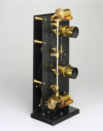 Friese-Greene and Prestwich projector, 1896.