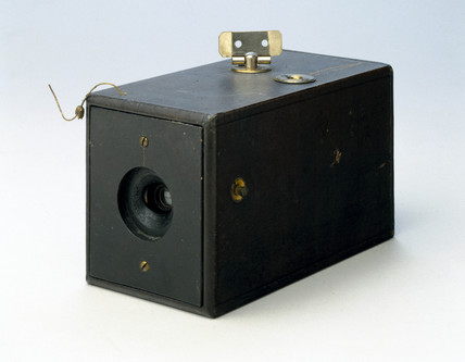 The Kodak camera, 1888.