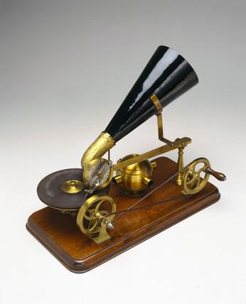 Berliner gramophone, c 1891.
