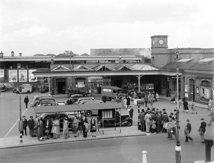 Watford Junction Station, c 1942.