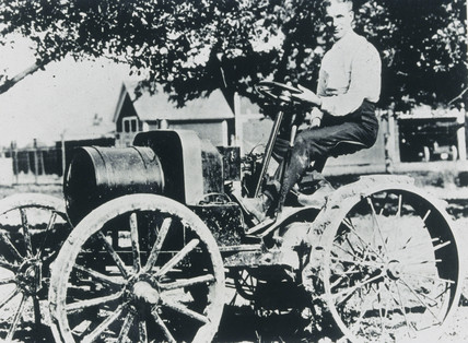Henry Ford, American automobile engineer and manufacturer, 1908.