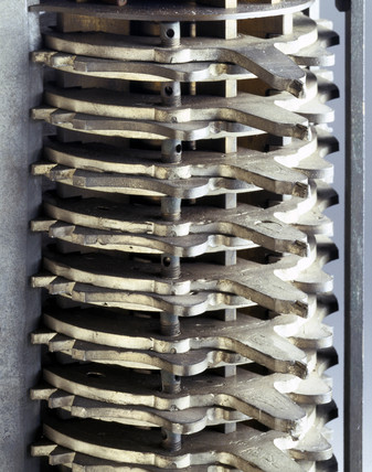 Experimental model for Babbage's Analytical Engine, c 1870.