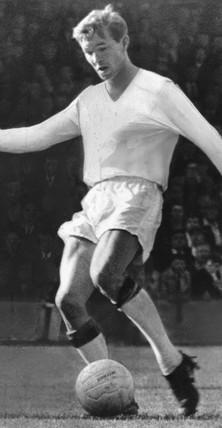 Alex Ferguson, Dunfermline FC footballer, c 1964.