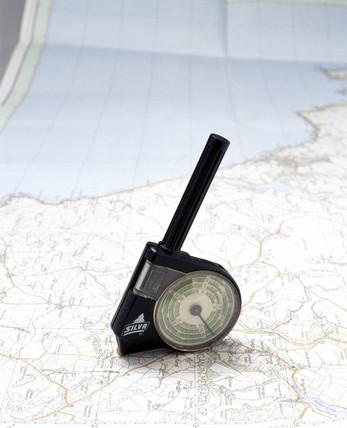 Silva Combi 2 map measurer, c 1989.
