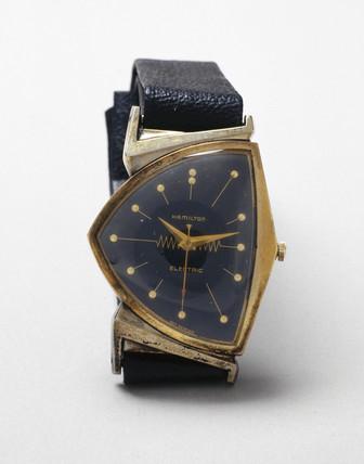 Hamilton electric wristwatch, 1957.