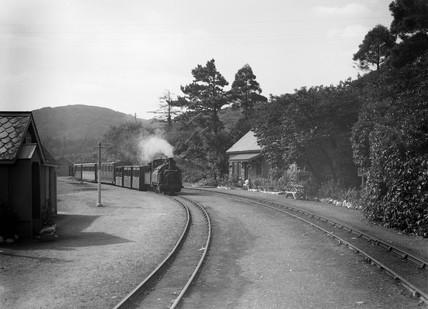 Saddle tank steam locomotive, 0-4-0, 1933.