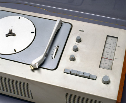 Braun table radiogram, c 1962.