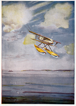 Curtis Army Biplane, Schneider Trophy programme, September 1929.