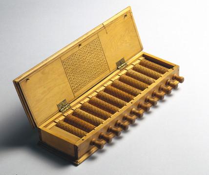 Napier's Rods, 1671-1700.