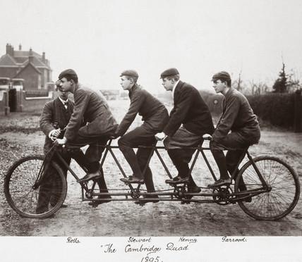 'The Cambridge Duad', Cambridge University, 1895.