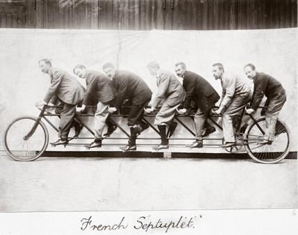'French Septuplet', 1895.