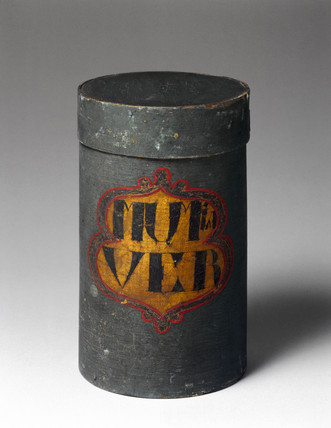Powdered mummy container, European, c 1600-1800.