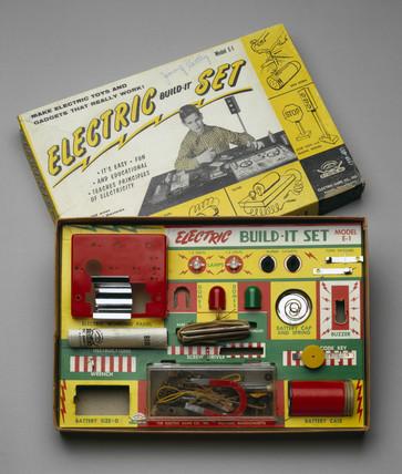 'Electric Build-it Set', c 1956-1960.