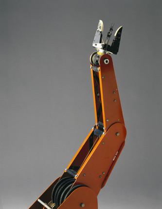 Armdroid robotic arm, 1981.