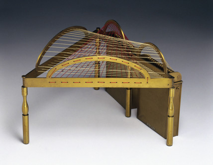 Model of a groin, string surface model, 1872.