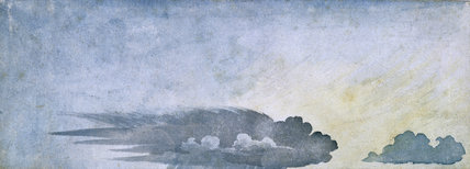 'Rain hitting the ground, anvil is spread out', c 1803.