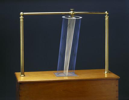 Deformation of a cylinder, string surface model, 1872.