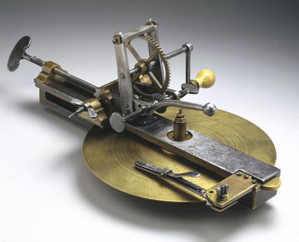 Clock teeth cutting engine, Lancashire, 1751.