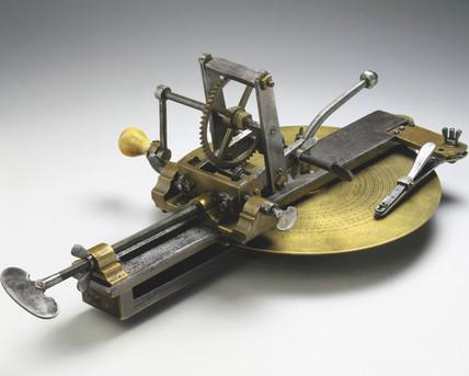 Teeth cutting engine, Lancashire, 1751.