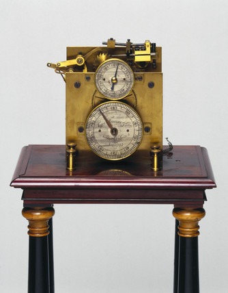 Hipp chronoscope, Swis, 1893-1900.