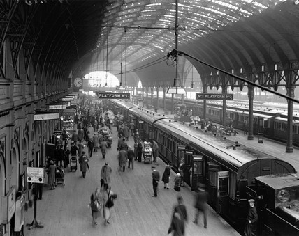 Paddington Station, London, 10 June 1931.