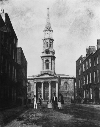 St George's Church, Hardwicke Place, Dublin, 1843.