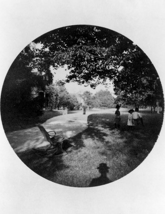 Children in a park, 1888.