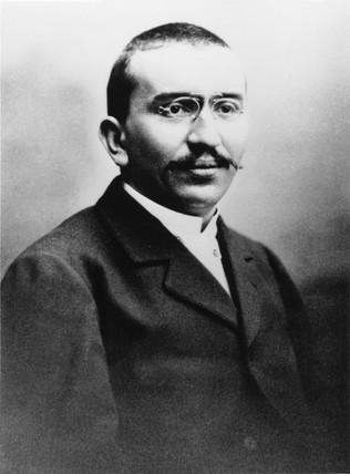 Louis Lumiere, c 1895.