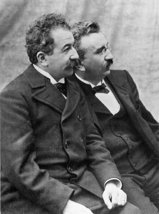 Lumiere brothers, c 1920s.